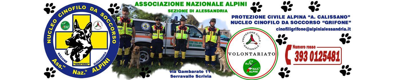 NUCLEO CINOFILO DA SOCCORSO GRIFONE P.C. A.N.A. AL